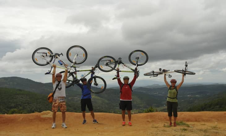CYCLING THROUGH COUNTRYSIDE OF DALAT