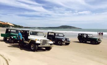 Mui Ne Jeep Ride Over The Sand Dunes And Sandy Beach